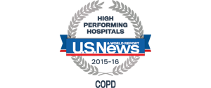 US News COPD Badge 2015-16