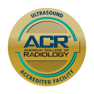 American College of Radiology Ultrasound Accredited Facility Seal