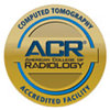 Computed Tomography Accredited Facility Seal from ACR