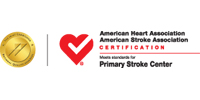 American Heart Association and American Stroke Association Primary Stroke Center Badge