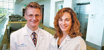 Alan Grosset, MD, and Alice Ulhoa-Cintra, MD