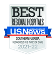 CCIRH is ranked as one of Southern Florida's Best Regional Hospitals